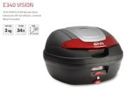 Givi E340 Vision - Kufer Monolock 34 litry
