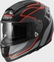 KASK LS2 FF397 VECTOR VANTAGE BLACK RED