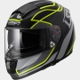 KASK LS2 FF397 VECTOR VANTAGE BLACK YELLOW