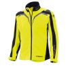 HELD KURTKA TEKST RAINBLOCK TOP BLACK/FLUO YELLOW