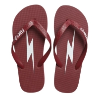 JAPONKI FOX LADY THROTTLE MANIAC FLIP FLOP DARK RED