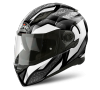 AIROH MOVEMENT STEEL WHITE GLOSS Kask Integralny
