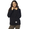 BLUZA FOX LADY Z KAPTUREM ROAD RAIDER SHERPA BLACK