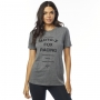FOX T-SHIRT LADY DARKSIDE HEATHER GRAPHITE