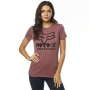 FOX T-SHIRT LADY DRIPS ROSE
