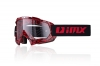 GOGLE IMX MUD GRAPHIC RED/BLACK SZYBA CLEAR