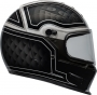 BELL KASK INTEGRAL. ELIMINATOR OUTLAW BLACK/WHITE