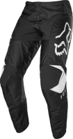 FOX SPODNIE OFF-ROAD JUNIOR 180 PRIX BLACK/WHITE