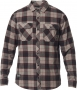 FOX KOSZULA TRAILDUST 2.0 FLANNEL PEWTER