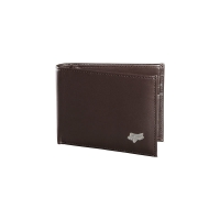FOX  PORTFEL SKÓRZANY BIFOLD LEATHER BROWN