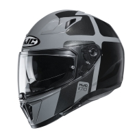 HJC KASK INTEGRALNY I70 PRIKA GREY/BLACK
