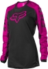 FOX BLUZA OFF-ROAD  LADY 180 DJET BLACK/PINK