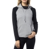 BLUZA FOX LADY Z KAPTUREM SUGGEST HEATHER GREY