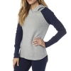 BLUZA FOX LADY Z KAPTUREM TROT HEATHER GREY
