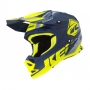 KENNY KASK OFF-ROAD TRACK KID NAVY NE/YEL MAT 2019