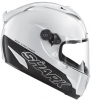 Shark Kask RACE-R PRO CARBON BLANK BIALY